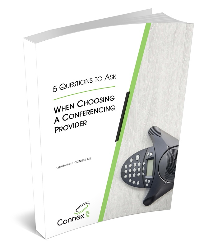 eBook - questions to ask when choosing a conferencing provider